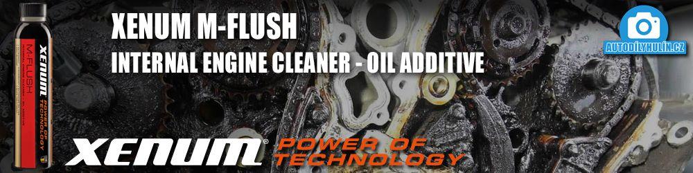 XENUM m-flush proplach motoru